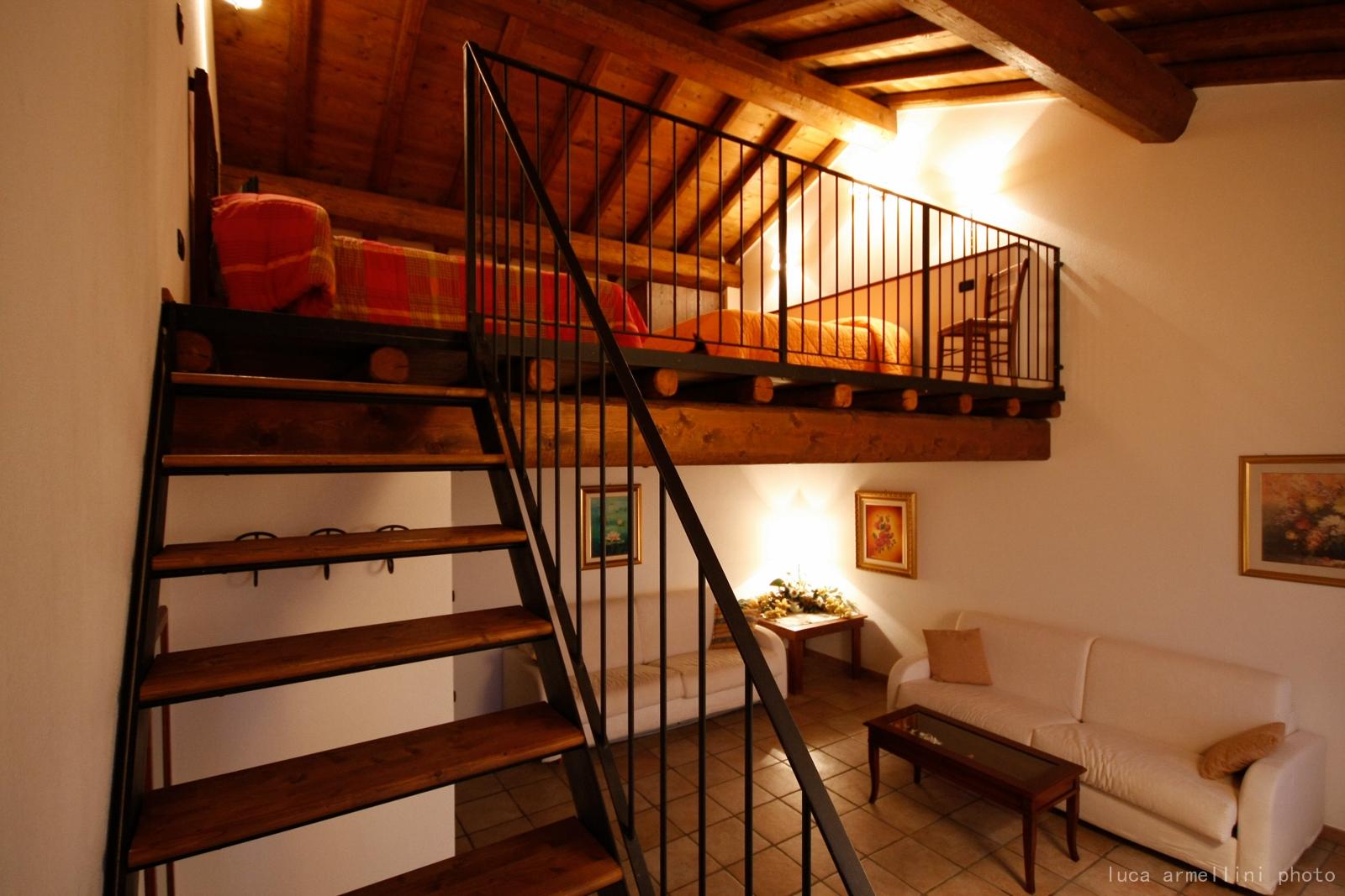 suite con soppalco